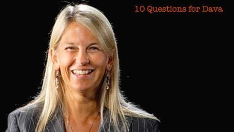 S2010 E3: Dava Newman: 10 Questions for Dava