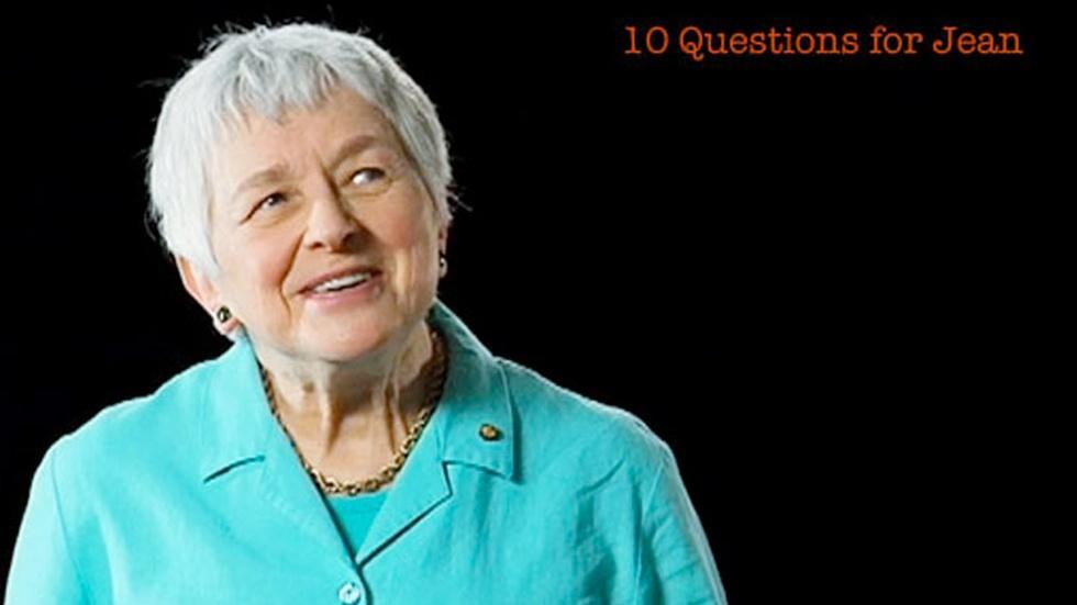 Jean Berko Gleason: 10 Questions for Jean image
