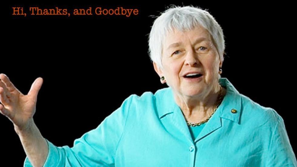 Jean Berko Gleason: Hi, Thanks, and Goodbye image