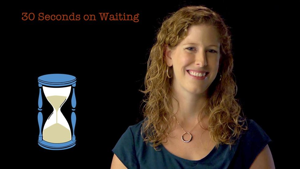 S2014 Ep14: Kate Sweeny: 30 Seconds on Waiting image