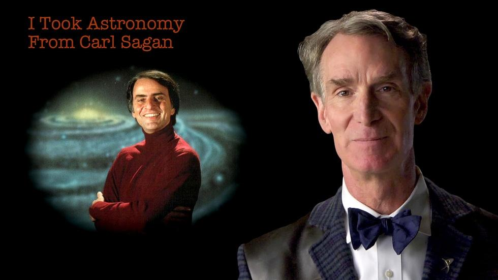 Bill Nye: I Took Astronomy From Carl Sagan image