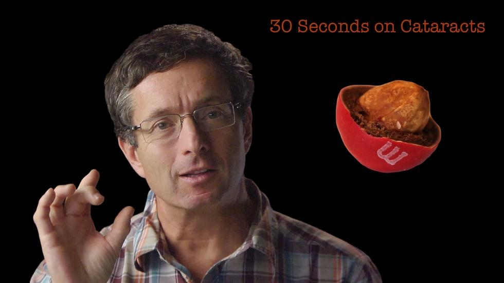 Geoff Tabin: 30 Seconds on Cataracts image