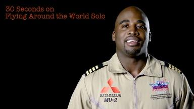 Barrington Irving: 30S on Flying Around the World Solo