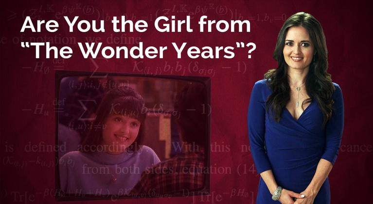 "Secret Life of Scientists and Engineers: Danica McKellar: Are You the Girl from ""The Wonder Years""?"