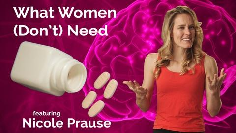 Secret Life of Scientists and Engineers -- Nicole Prause: What Women (Don't) Need
