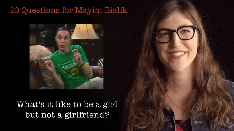 S2012 Ep19: 10 Questions for Mayim Bialik image