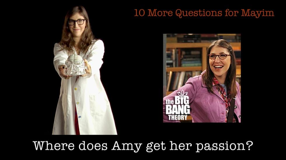 10 More Questions for Mayim Bialik image