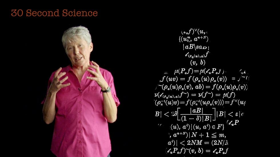 30 Second Science: Maria Klawe image