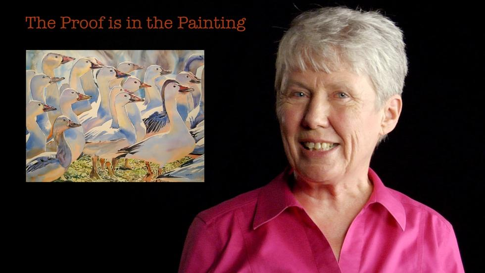 Maria Klawe: The Proof is in the Painting image