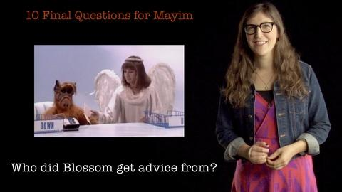 S2013 E33: 10 Final Questions for Mayim Bialik