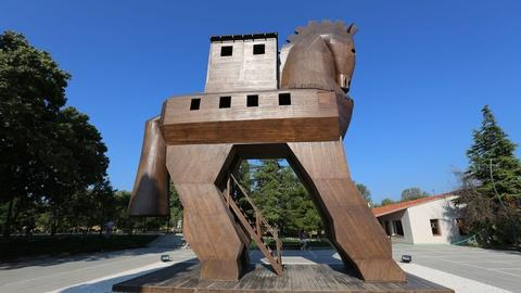 Secrets of the Dead -- The Real Trojan Horse
