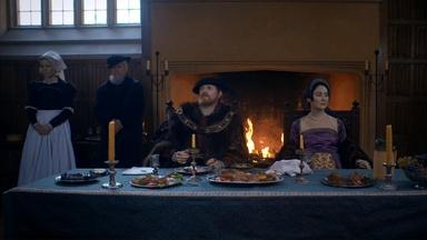 Anne Boleyn and Henry VIII Argue at Dinner