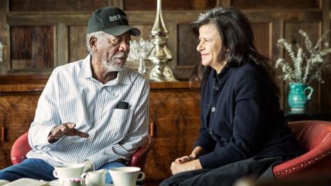 S2 E3: Morgan Freeman reunites with Co-Star Tracey Ullman