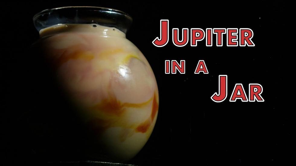 Jupiter in a Jar in HD image