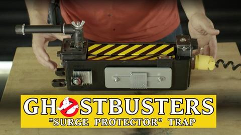 "Shanks FX -- Ghostbusters ""Surge Protector"" Trap"