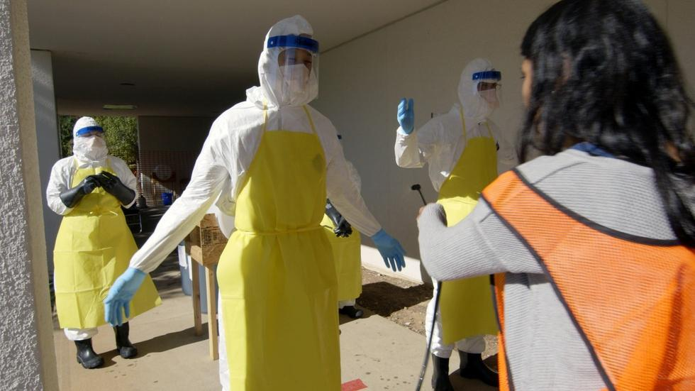 Healthcare Workers and Ebola image