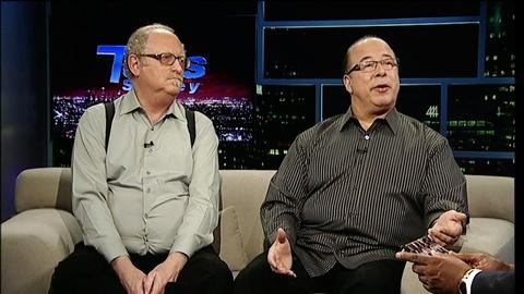 "Tavis Smiley -- Tower of Power's Stephen ""Doc"" Kupka & Emilio Castillo"