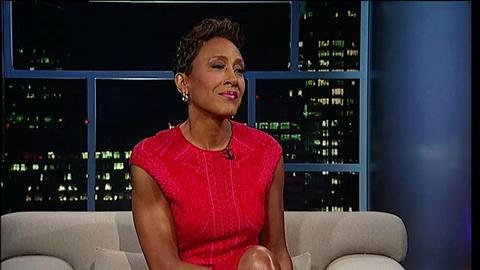 Tavis Smiley -- 'GMA' anchor Robin Roberts