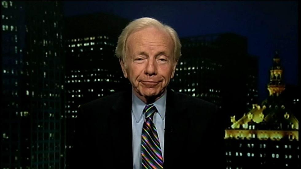 Former U.S. Senator Joseph Lieberman image