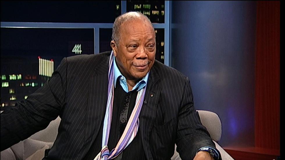Producer-musician Quincy Jones image