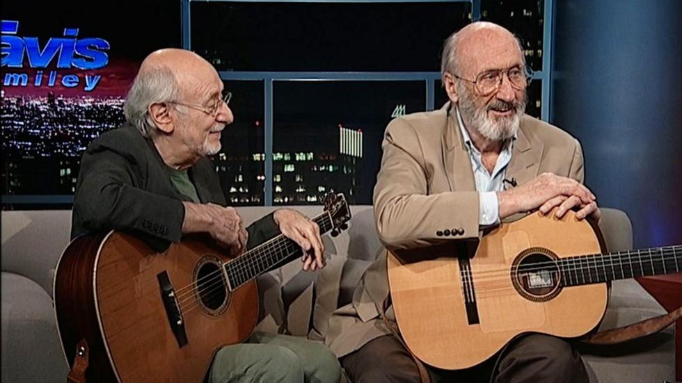 Musicians-activists Peter Yarrow & Paul Stookey image