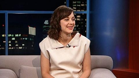 Tavis Smiley -- Actress Marion Cotillard