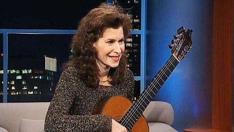 Tavis Smiley -- Classical Guitarist Sharon Isbin