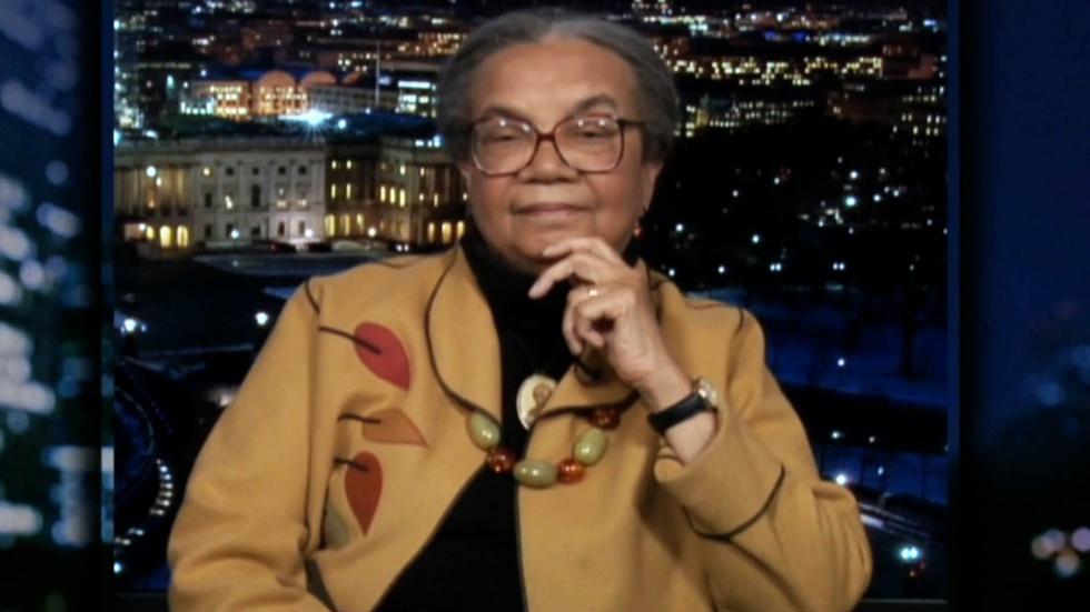 Activist Marian Wright Edelman image
