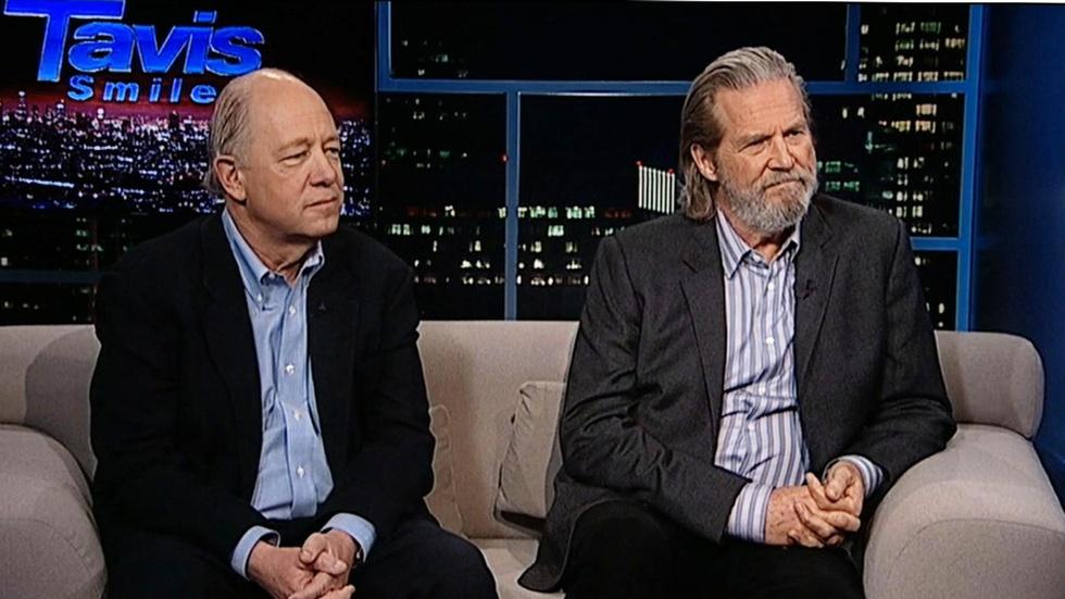 Actor Jeff Bridges & Share Our Strength CEO Bill Shore image