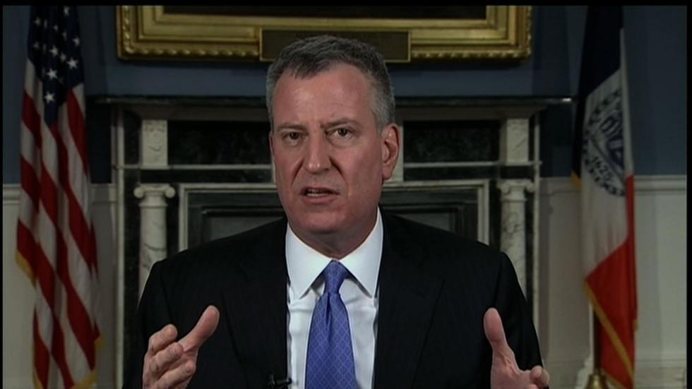 NY Mayor Bill de Blasio image