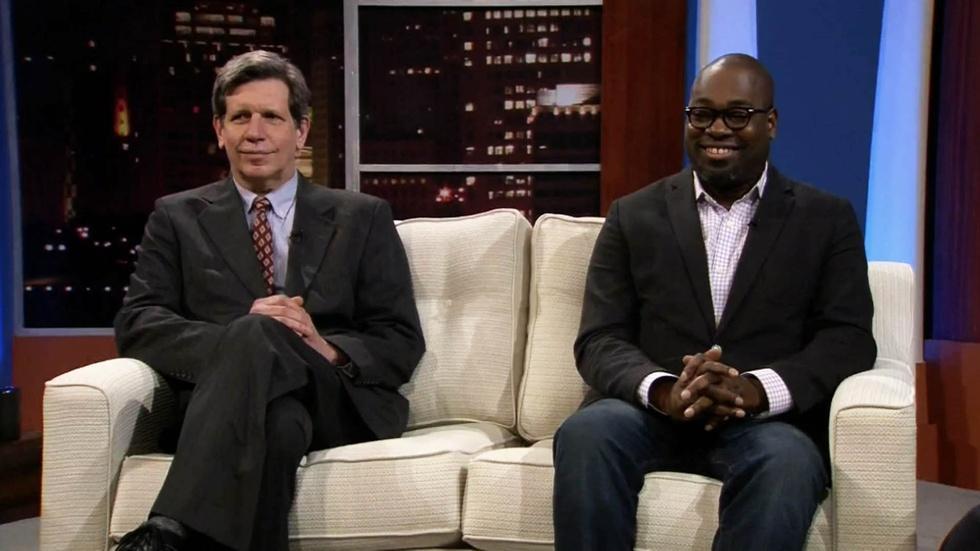 Detroit Journalists Stephen Henderson & Curt Guyette image