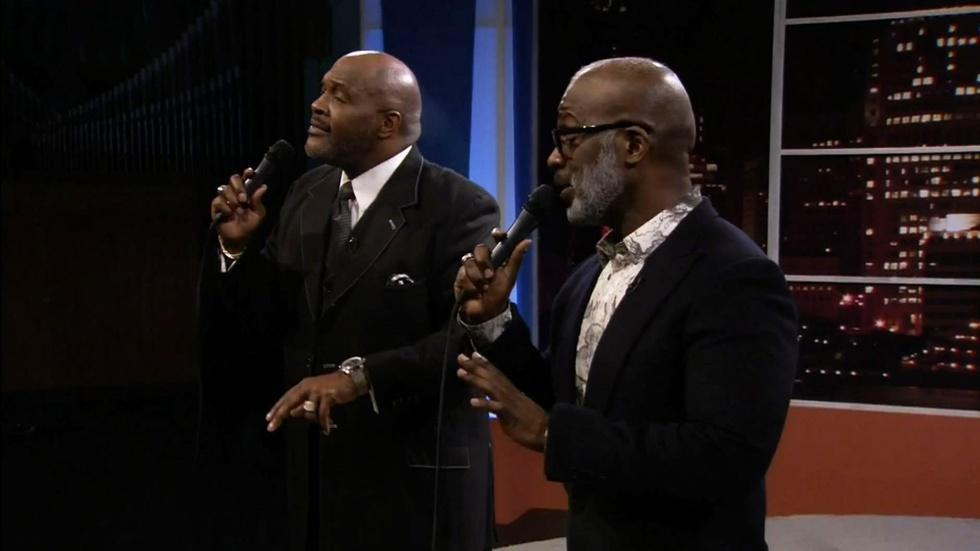 "3 Winans Brothers Perform ""I Really Miss You"" image"