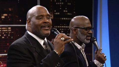 """Tavis Smiley -- The Winans Brothers perform """"If God Be For Us"""""""