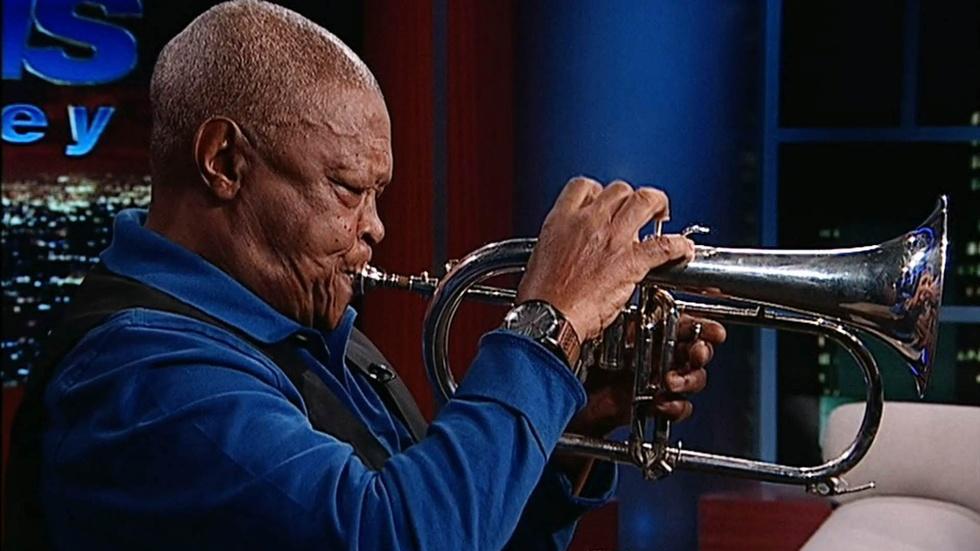 Musician Hugh Masekela image