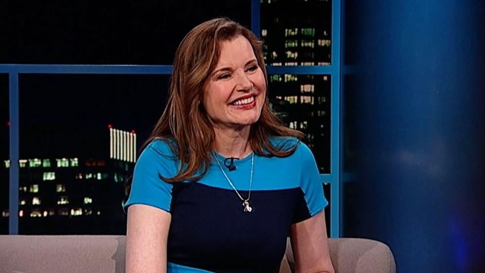 Actor/Advocate Geena Davis image