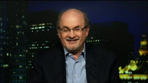 Tavis Smiley -- Author Salman Rushdie
