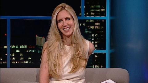 Tavis Smiley -- Author Ann Coulter