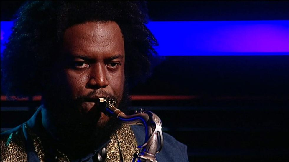 Saxophonist Kamasi Washington image