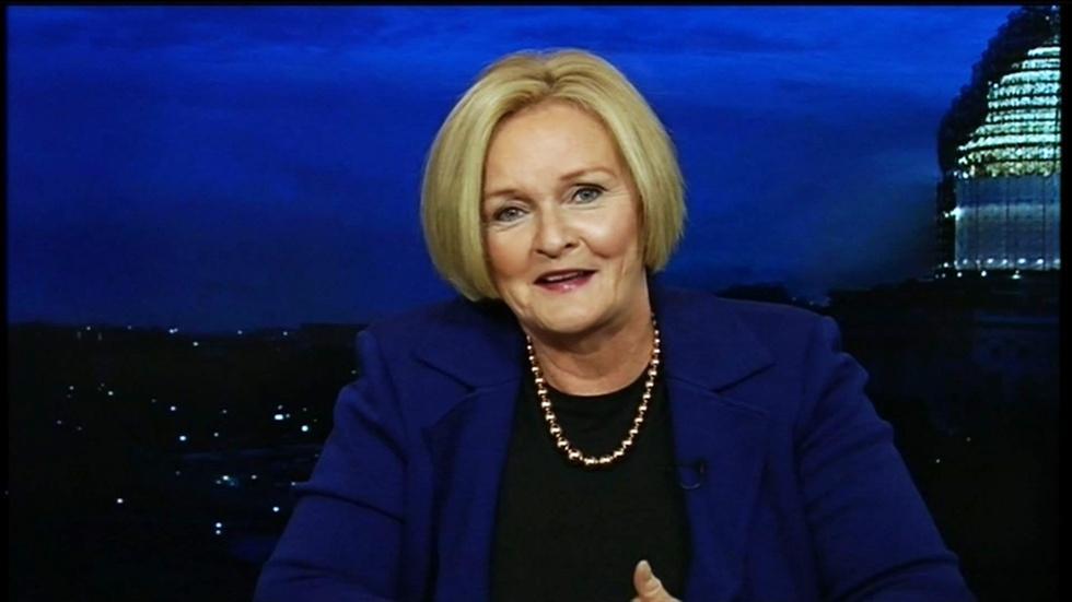 Missouri Senator Claire McCaskill image