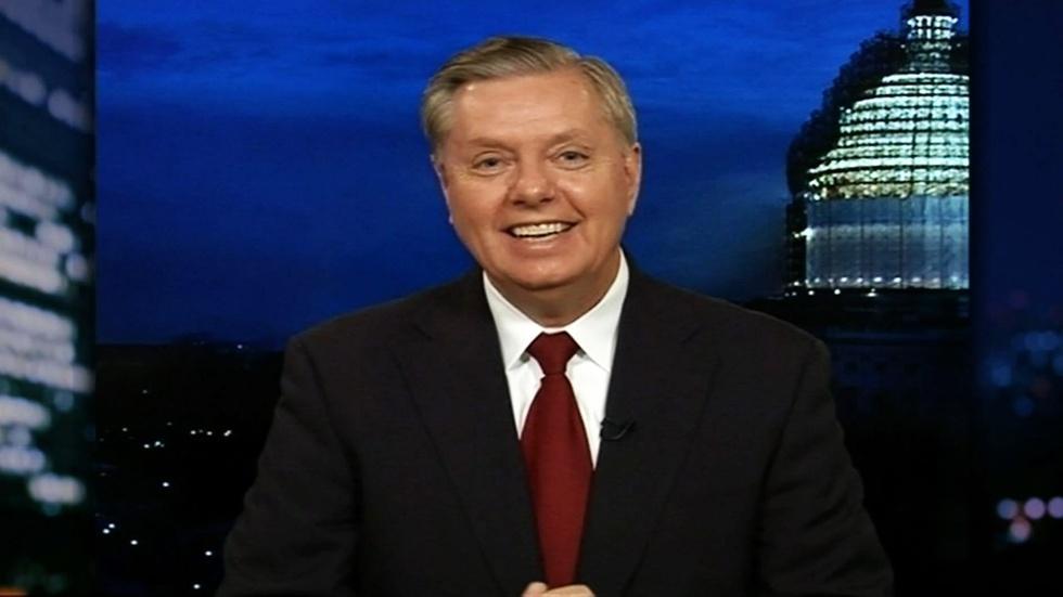 Presidential Candidate Sen. Lindsey Graham image
