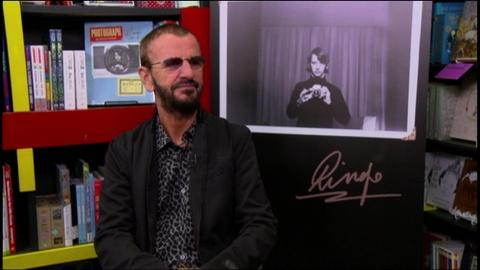 Tavis Smiley -- Ringo Starr - Part 1