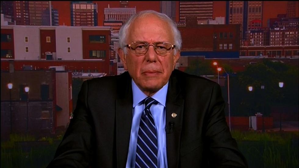 Presidential Candidate Sen. Bernie Sanders image