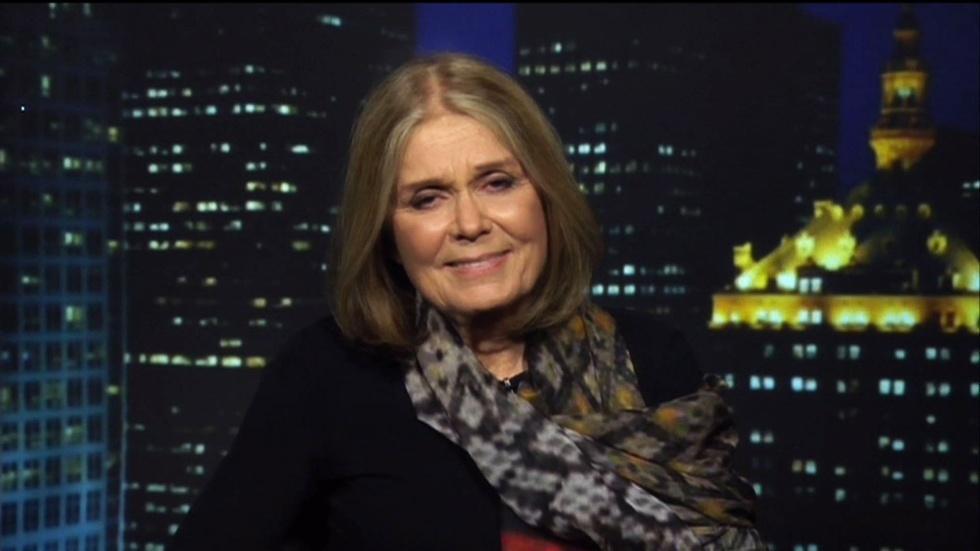 Activist/Author Gloria Steinem image
