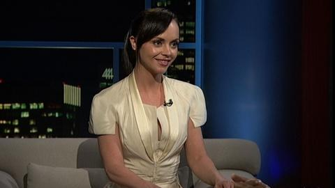 Tavis Smiley -- Actress Christina Ricci