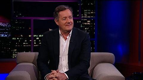 Tavis Smiley -- Journalist Piers Morgan
