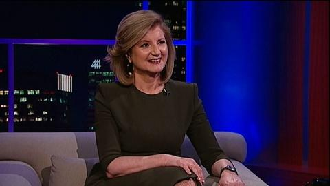 Tavis Smiley -- Author Arianna Huffington