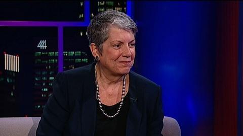 Tavis Smiley -- President, University of California Janet Napolitano