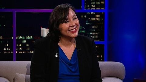 Tavis Smiley -- Exec. Director, Amnesty Intl. USA Margaret Huang