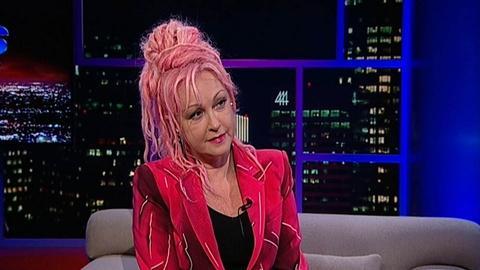 Tavis Smiley -- Singer-songwriter Cyndi Lauper, pt. 2