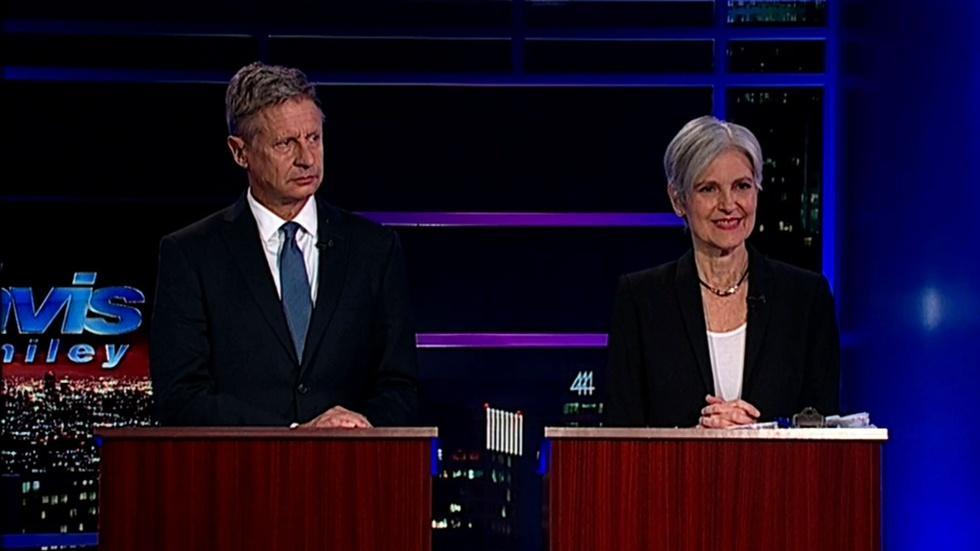Pres. Candidates Dr. Jill Stein & Gov. Gary Johnson Part 2 image